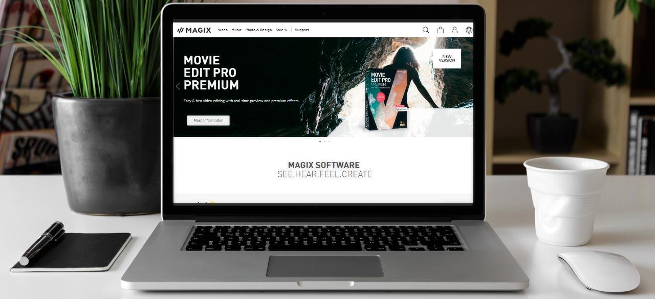 Magix Software Banner